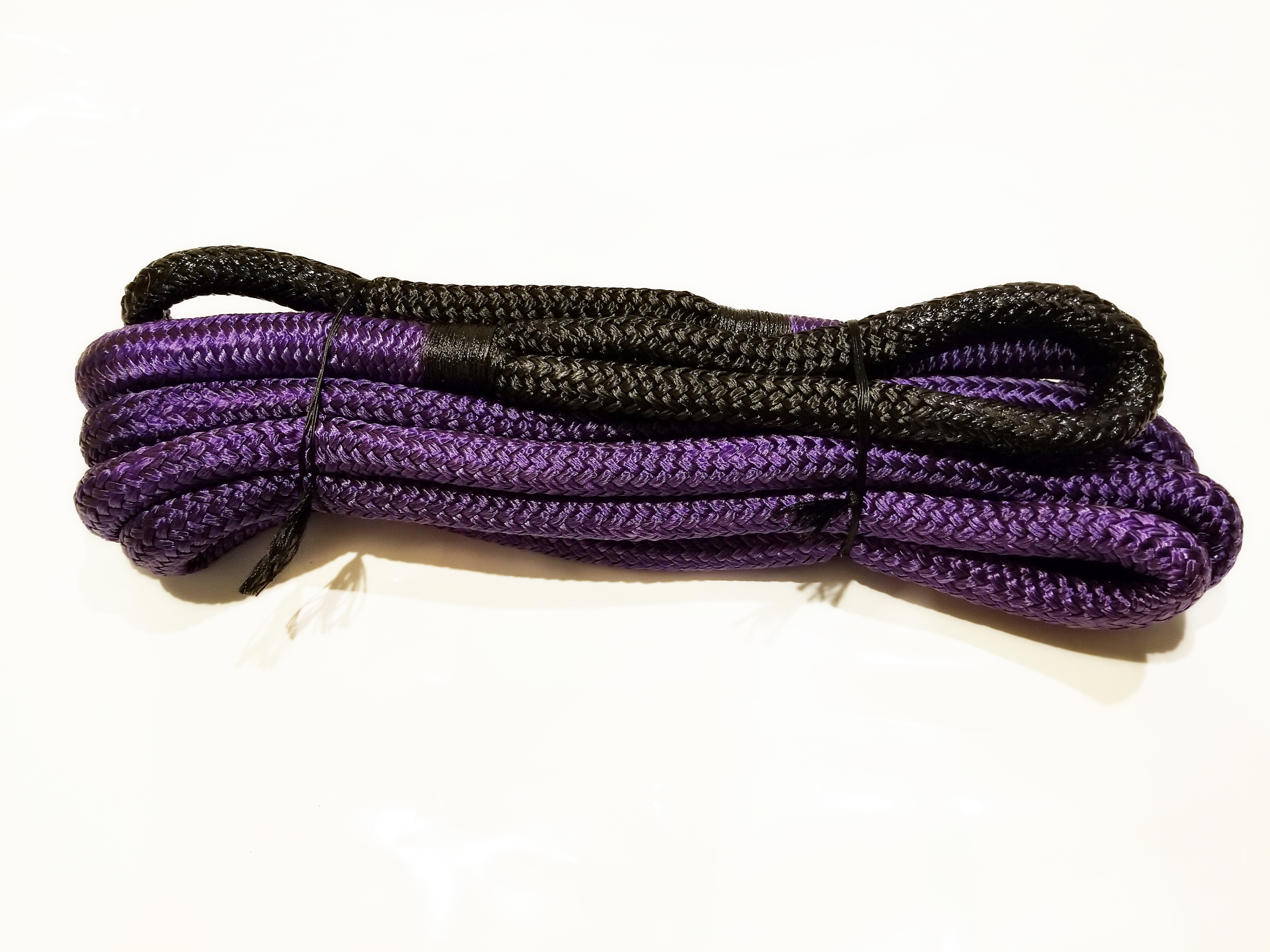 3/4 X 20 Kinetic Rope Purple with Black