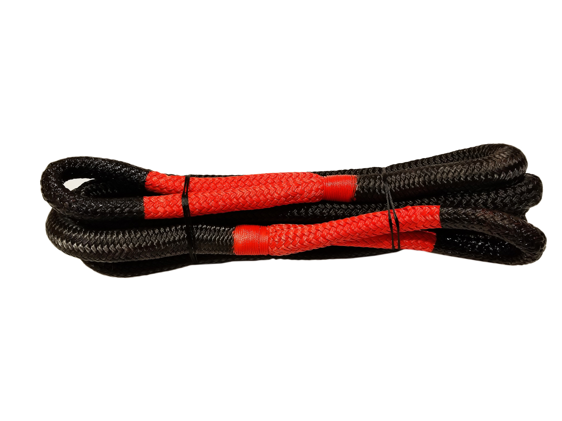 3/4 X 20 Kinetic Rope Black with Red